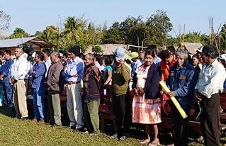 Autoridades de Territorios Indígenas de la Amazonía Sur y Comité Municipal de Atención a Desastres refuerzan los controles de circulación en la Provincia Mojos