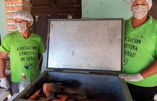 Productores piscícolas de Santa Cruz comercializan sus productos y generan ingresos en época de cuarentena