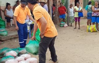 Familias indígenas de Urubichá reciben semillas para reactivar sus sistemas productivos