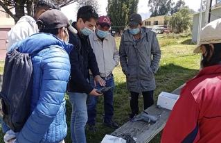 Jóvenes amazónicos se capacitan en tecnologías de manejo y monitoreo ambiental