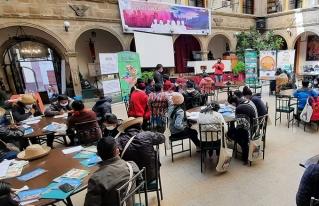 Primer día del desarrollo del Cuarto Foro Nacional de la juventud urbana rural de Bolivia