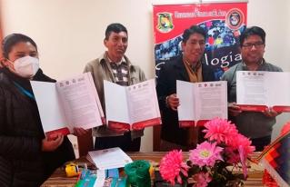 CIPCA Regional Altiplano firma convenio con la carrera de Sociología de la Universidad Pública de El Alto