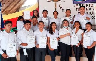 Jóvenes de San Ignacio de Mojos se certifican como facilitadores comunitarios.