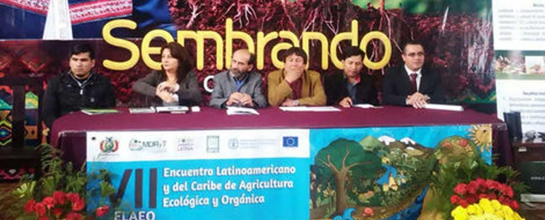 El VII Encuentro de Agricultura Ecológica y Orgánica será en Bolivia