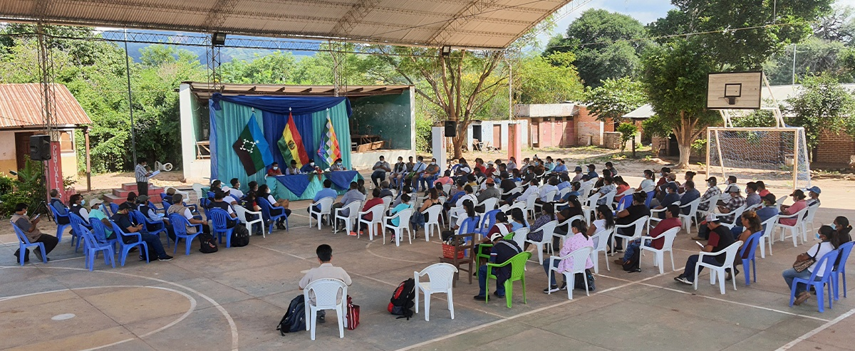 Charagua Iyambae realizó su primera asamblea interzonal del 2021